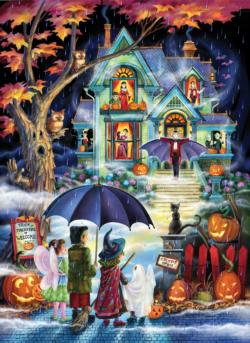 Fright Night Halloween Jigsaw Puzzle