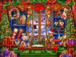 Ye Olde Christmas Shoppe Christmas Jigsaw Puzzle