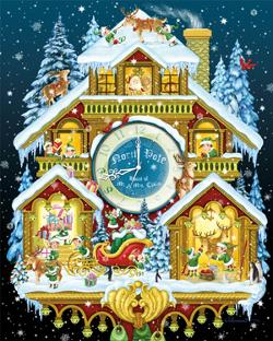 Christmas Cuckoo Christmas Jigsaw Puzzle