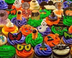 Halloween Cupcakes Sweets Jigsaw Puzzle