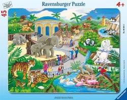 Visit to the Zoo Jungle Animals Children's Puzzles