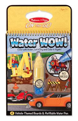 Water Wow! - Vehicles Arts and Crafts
