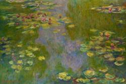 Waterlilies by Claude Monet People