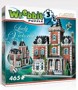 Victorian Cottage - Scratch and Dent Everyday Objects 3D Puzzle