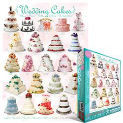 Wedding Cakes Pattern / Assortment Jigsaw Puzzle