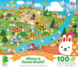 Flower Moshi (Where is Moshi? ) Cartoons Children's Puzzles