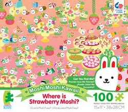 Strawberry Moshi(Where is Moshi? ) Cartoons Children's Puzzles
