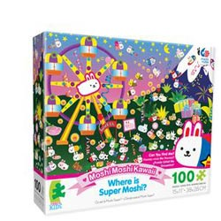 Super Moshi (Where is Moshi? ) Cartoons Children's Puzzles