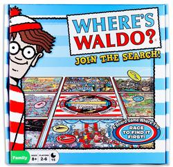 Where's Waldo? Join the Search! Board Game