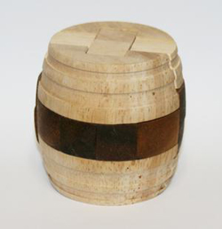 Wine Barrel (Medium 2-tone) Brain Teaser