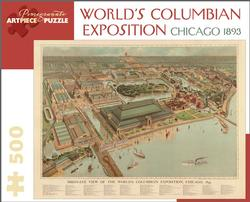 World's Columbian Exposition, Chicago 1893 Cities Jigsaw Puzzle