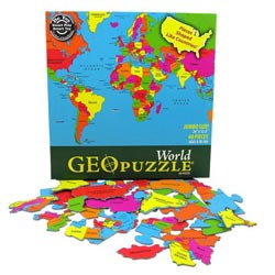 World - Scratch and Dent Maps / Geography Children's Puzzles