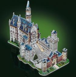 Neuschwanstein Castle Landmarks / Monuments 3D Puzzle
