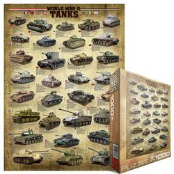 World War II Tanks Pattern / Assortment Jigsaw Puzzle