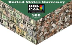 Money Everyday Objects Double Sided Puzzle
