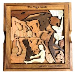 Yoga Wooden Jigsaw Puzzle