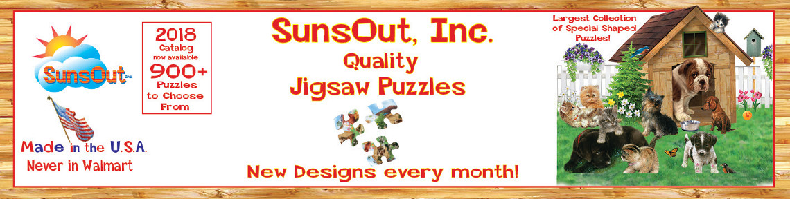 SunsOut, Inc - Quality Jigsaw Puzzles