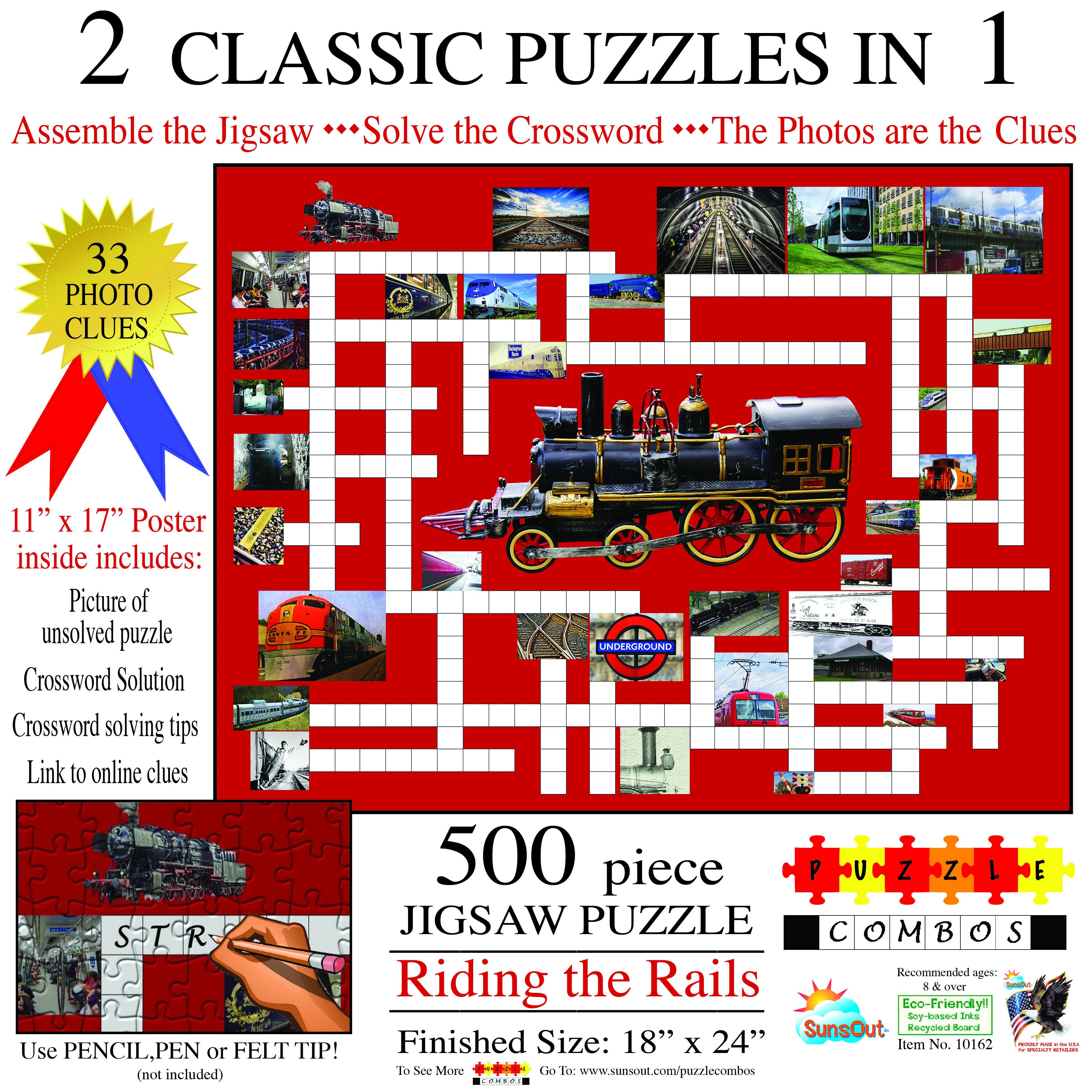 Puzzle Combo: Riding the Rails