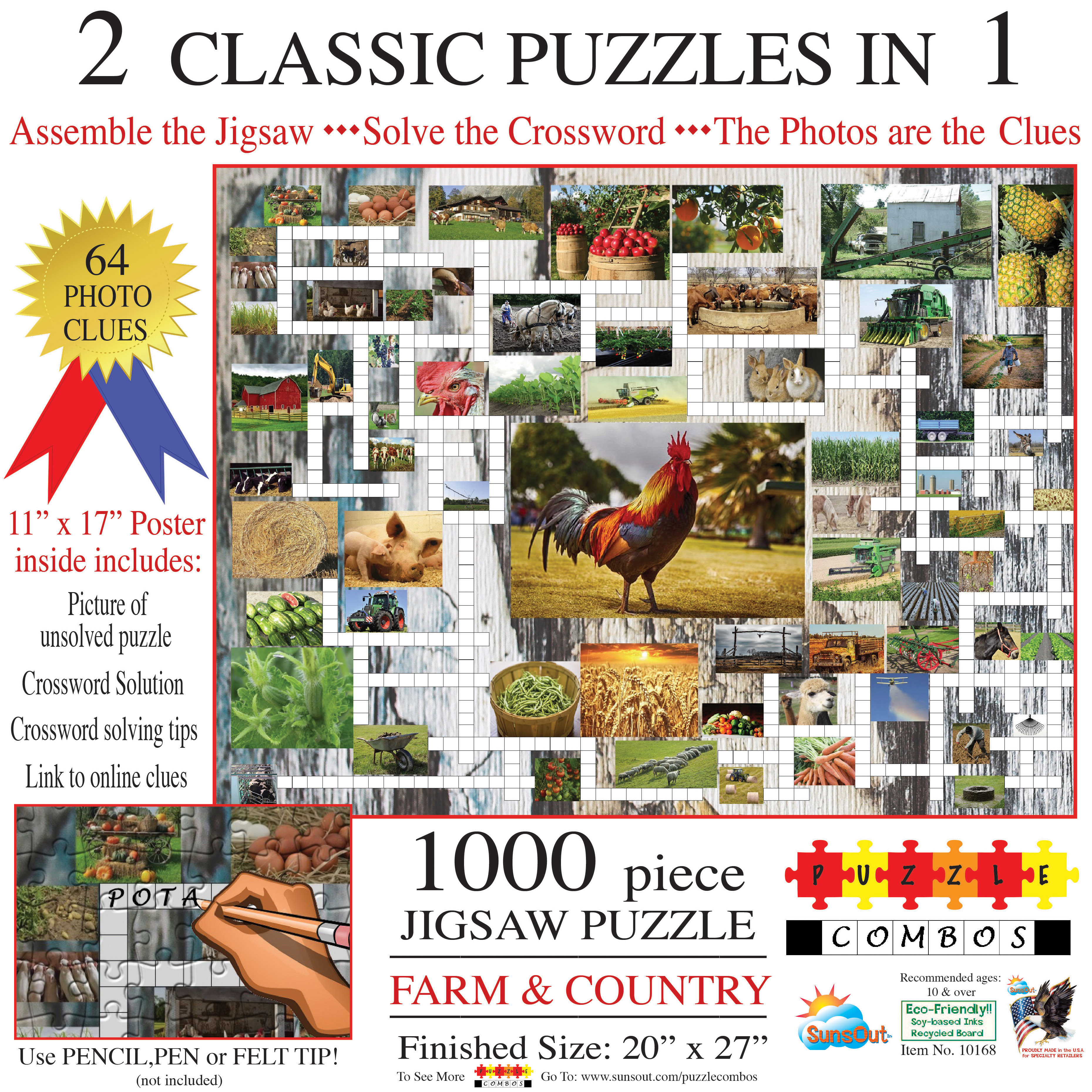 Puzzle Combo: Farm & Country