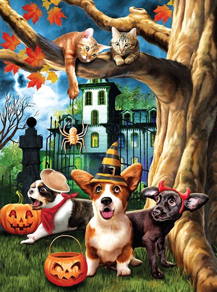 Halloween Hijinks 1000
