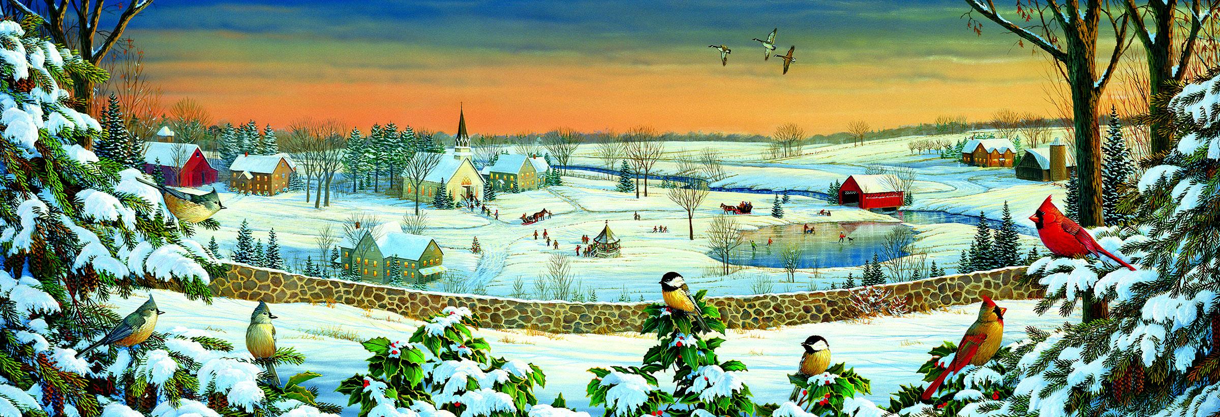 Winter Panorama 500