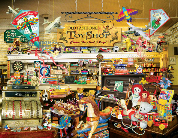 An Old Fashioned Toy Shop