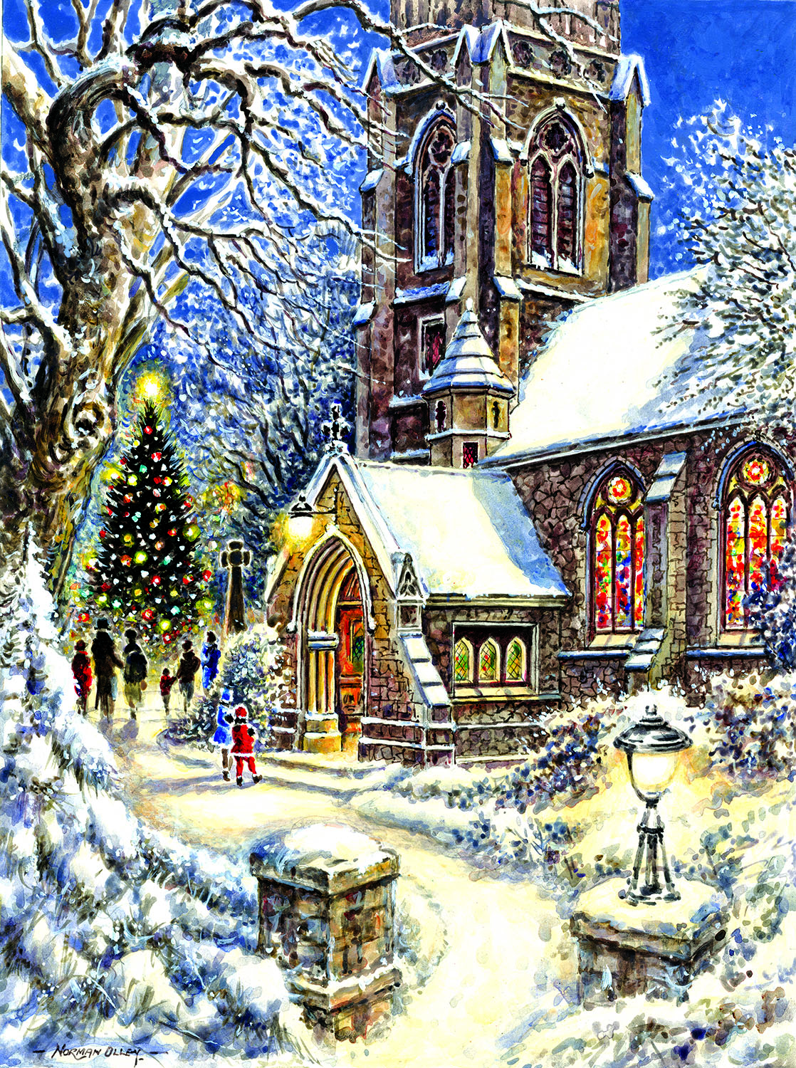 Church in the Snow 1000