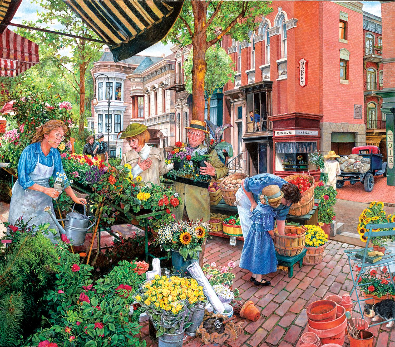 Sidewalk Flower Sale 300