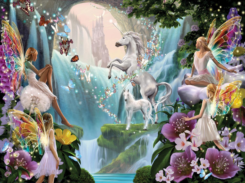 Unicorn and Fairy 1000