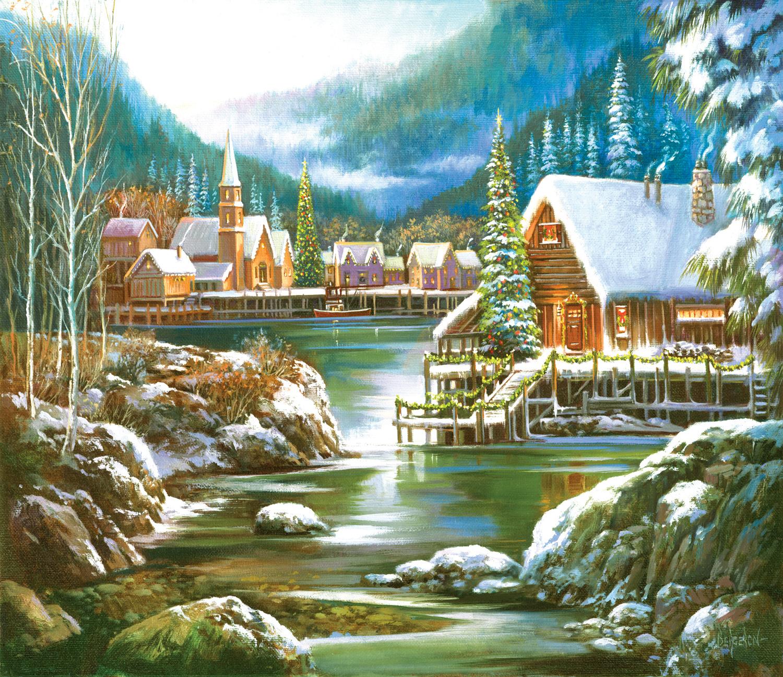 Snowy Harbor