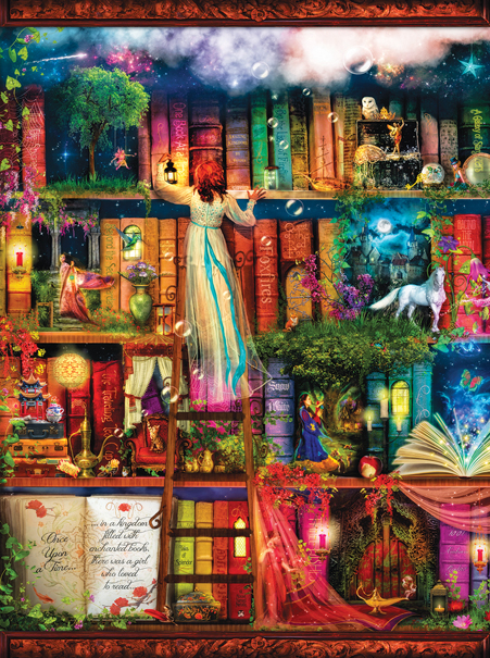 Treasure Hunt Bookshelf