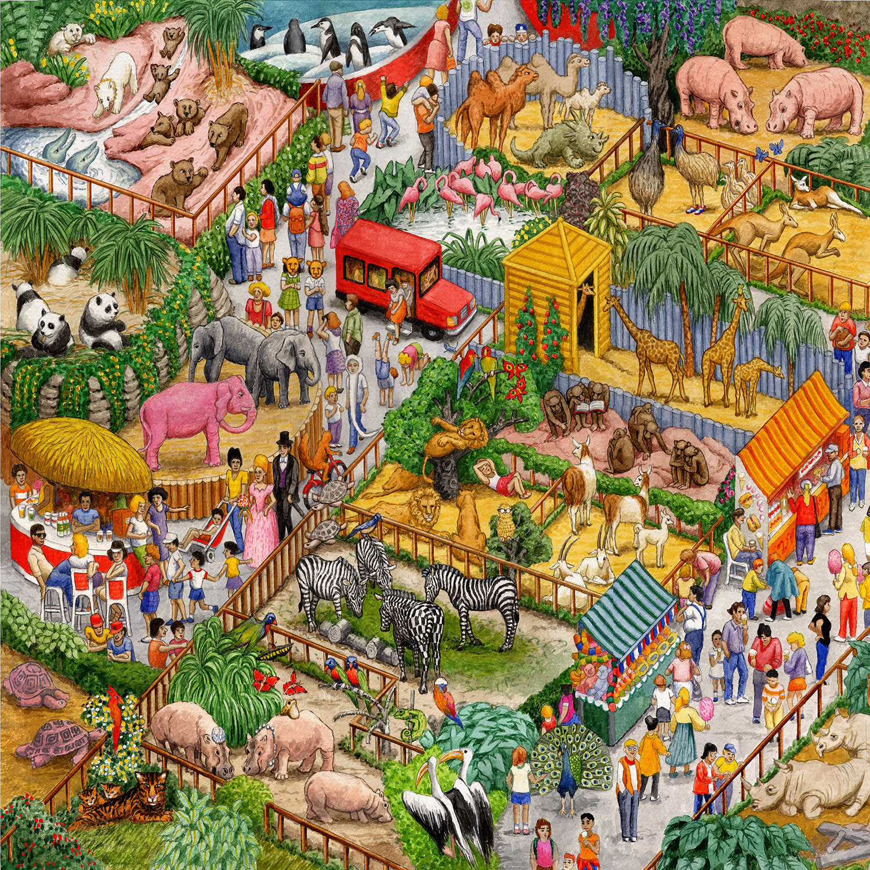 A Crazy Zoo