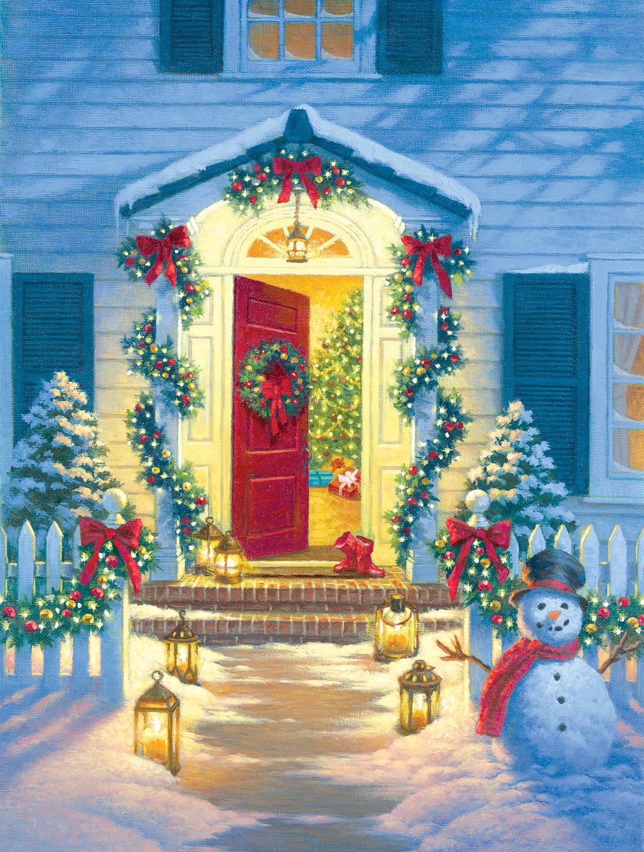 Christmas Porch 500