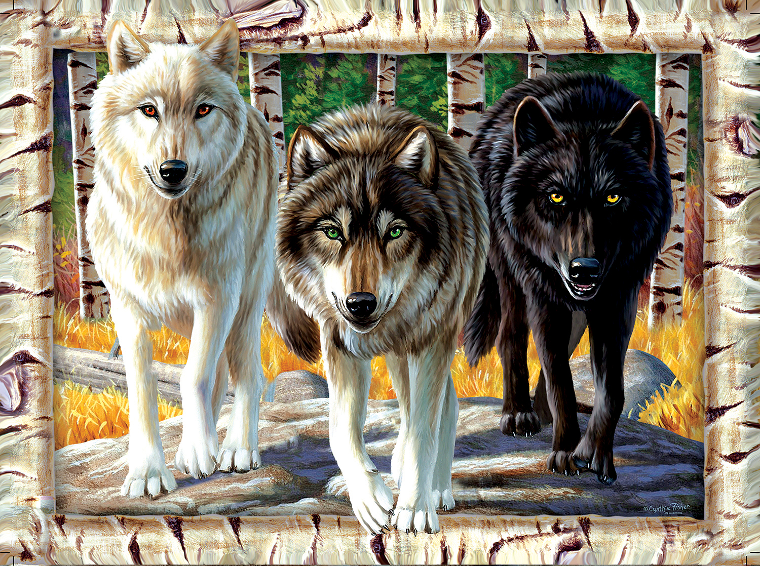 Wolf Pack Colors 1000