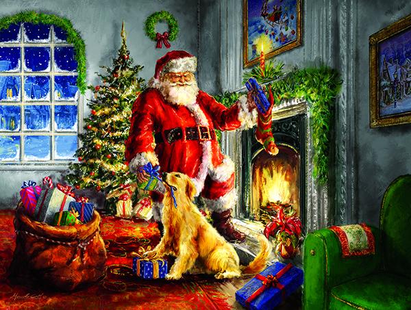 Helping Santa 300
