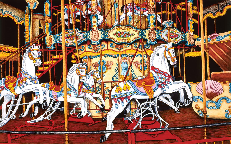 Carousel at the Fair 550