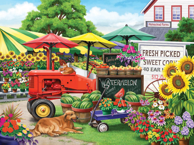 Farm Stand Bounty 1000 pc