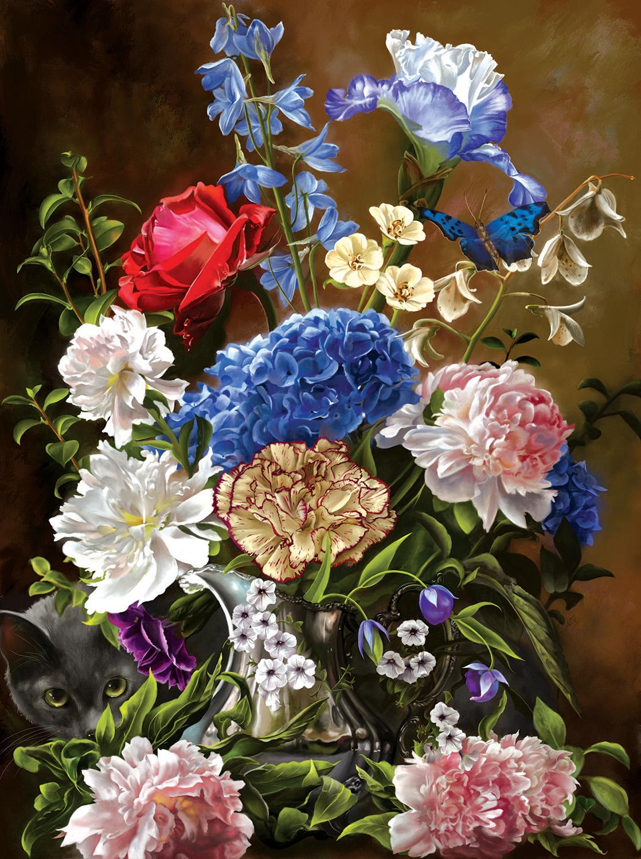 Bouquet in Blue