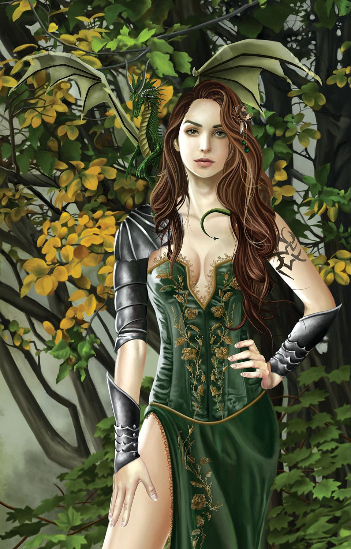 Emerald Portrait