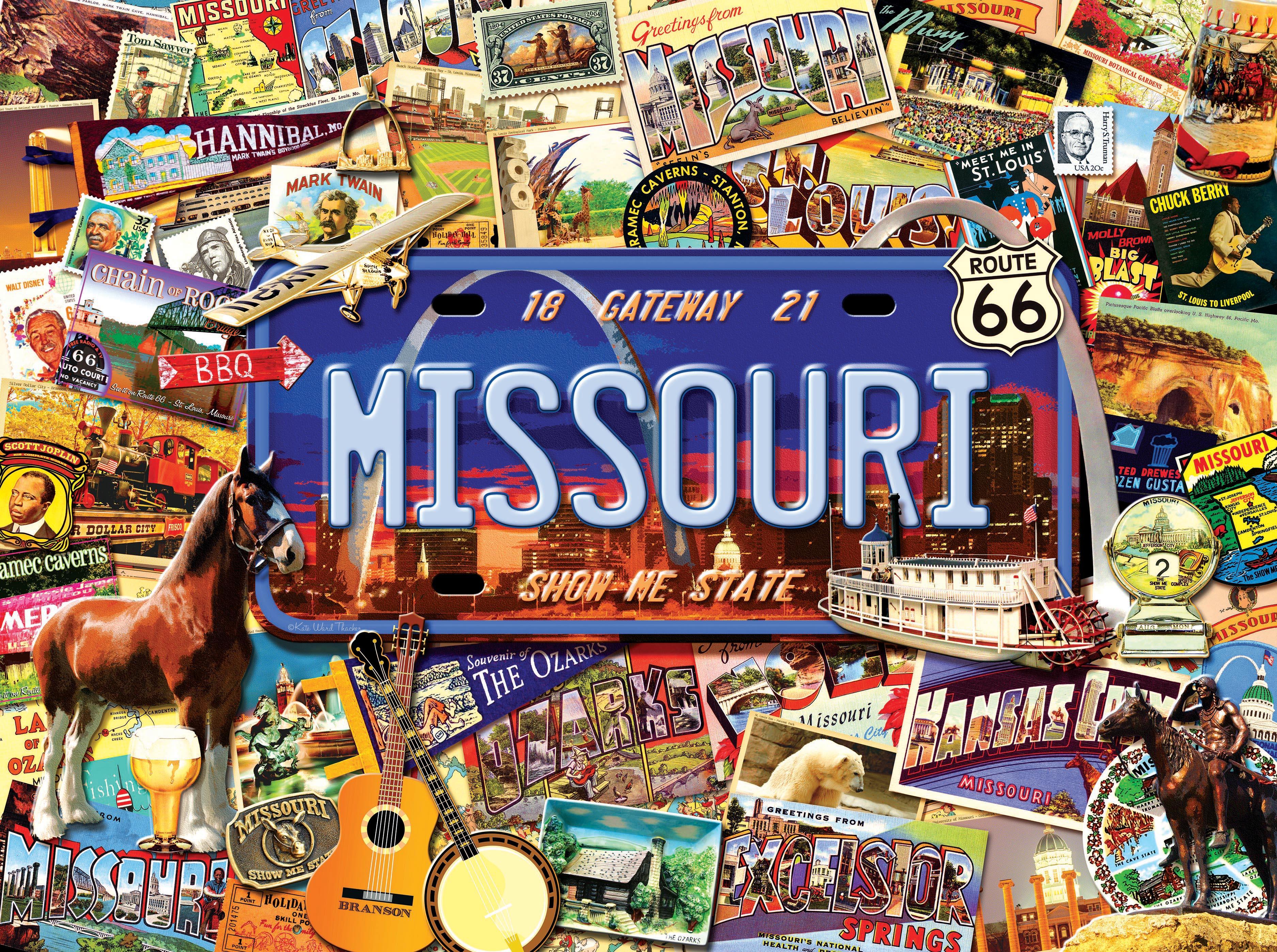 "Missouri: The ""Show Me"" State 1000"