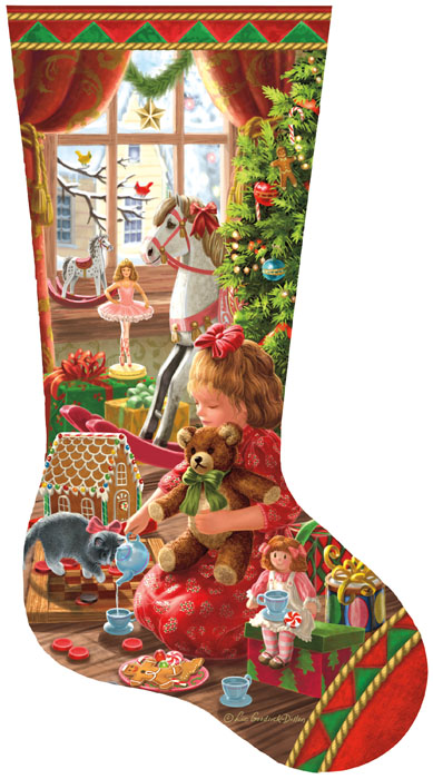A Girl's Stocking