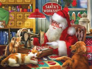 Santa's Quilting Workshop 300