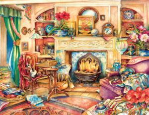 Fireside Embroidery 1000+