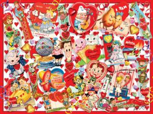 Valentine Card Collage