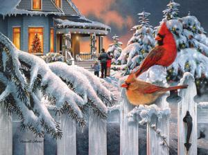 Cardinals at Home for Christmas 1000