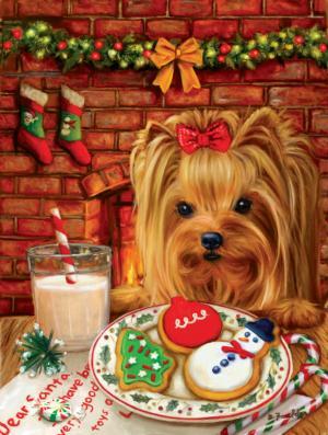 Sharing Cookies with Santa