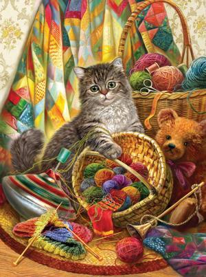 Kitten and Wool 1000