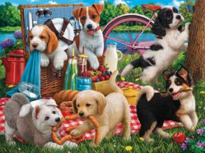Puppies on a Picnic 500
