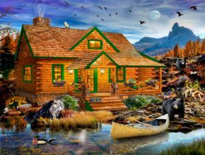 Blue Mountain Cabin 500 pc