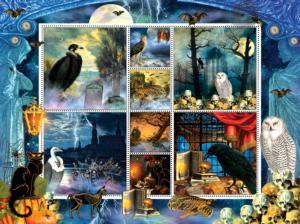 Halloween Stamps Spooky